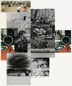 Robert Rauschenberg, Untitled, 1984. Screenprint with fabric and photo collage on hand-cut paper, edition 9/75, 31 7/8 x 26 3/8 inches (81 x 67 cm)