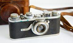 """He photographed the apparently unseen"" … Henri Cartier-Bresson's Leica camera.  Photograph: Sylvain Sonnet/Corbis"