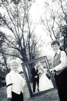 Adorable! Photo by Elijah. #MinneapolisWeddingPhotographer #WeddingPhotography