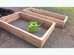 new raised bed 2x6 tongue and groove cedar planters
