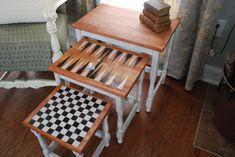 Fussy Monkey Business: Ballard Inspired Nesting Tables