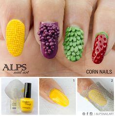 corn-nails www.salonfanatic.com