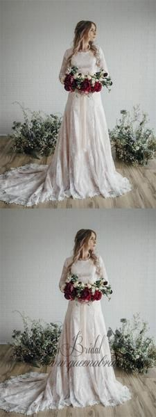 Long Sleeve Lace Wedding Dresses Plus Size Vintage Rustic Wedding Dresses, Langarm Spitze Brautkleider Plus Size Vintage Rustikale Brautkleider, Plus Wedding Dresses, Lace Wedding Dress With Sleeves, Western Wedding Dresses, Lace Mermaid Wedding Dress, Long Sleeve Wedding, Perfect Wedding Dress, Wedding Dress Styles, Dress Wedding, Dress Lace