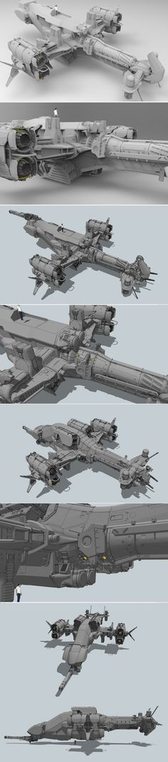 Space Vehicle Concept Ships, Concept Art, Starship Concept, Sci Fi Spaceships, Mekka, 3d Modelle, Spaceship Design, Sci Fi Ships, Mechanical Design