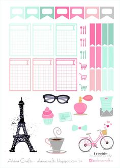 Alana Crafts: Freebie Paris!
