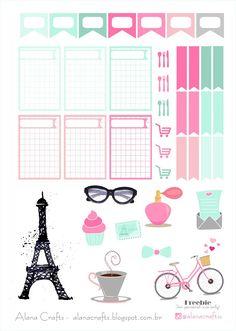 FREE Alana Crafts: Freebie Paris!