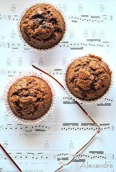 Μα...γυρεύοντας με την Αλεξάνδρα: Muffins σοκολάτας Muffins, Brownies, Cupcakes, Sweets, Chocolate, Cooking, Breakfast, Food, Gastronomia