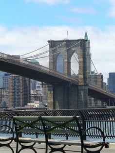 El puente de Brooklyn, el viaje del año. - Nueva York. http://soy.ph/ViajesNuevaYork