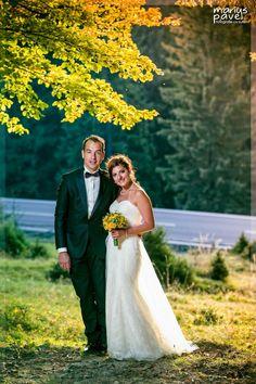 Fotografie romantica de nunta din Brasov