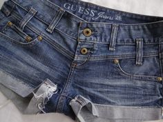 Gotta have them Summer Shorts! So Cute! Get them here for super cheap! #GUESS #MiniShortShorts