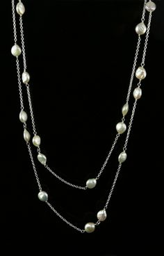 Pearl Chains - Biba Design Jewelry