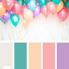 Peach & Blue Color Palette Inspiration {color palette} - Tip Junkie