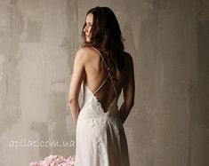 See through Bridal Nightgown with Lace Sheer Lingerie, Bridal Lingerie, Wedding Lingerie, Honeymoon Lingerie, Bridal Shower Gift Bride Lingerie, Honeymoon Lingerie, Sheer Lingerie, Wedding Lingerie, Lingerie Sleepwear, Lace Bridal Robe, Bridal Nightgown, Bridal Robes, Long Silk Nightgown
