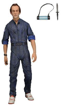"Amazon.com: NECA Aliens - 7"" Series 3 Bishop Action Figure: Toys & Games"