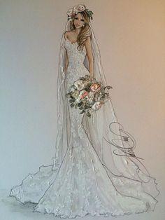 52 Ideas Fashion Design Sketches Wedding Beautiful For 2019 Source by dresses sketches Fashion Design Drawings, Fashion Sketches, Fashion Illustrations, Drawing Fashion, Fashion Sketchbook, Art Sketchbook, Wedding Dress Drawings, Wedding Dress Illustrations, Illustration Mode
