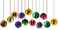 Fijne verjaardag plaatjes, krabbels en animaties 1 van tekstplaatjes.US