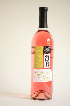 Wine label by Ali LaBelle