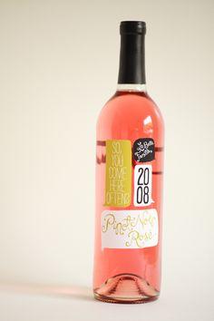 Wine label by Ali LaBelle