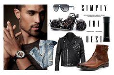 """JustRide"" by fahira-1 ❤ liked on Polyvore featuring Balmain, GBX, NOVICA, Dolce&Gabbana, Giorgio Armani, mens, men, men's wear, mens wear и male"