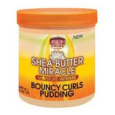 Shea Butter Miracle Bouncy Curls Pudding 15 Ounce gives an amazing manageability, softness and shine to naturally Curly, Wavy, Kinky-Coily Mixed Textures. Cantu Shea Butter For Natural Hair, Natural Hair Tips, Natural Hair Growth, Natural Baby, Natural Curls, Natural Hair Styles, Flat Twist, Sisterlocks, Twist Outs