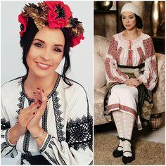 Ruffle Blouse, Costume, Romania, Folk, Women, Fashion, Moda, Popular, Fashion Styles
