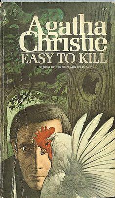 Easy to Kill - Agatha Christie. Cover art: Tom Adams