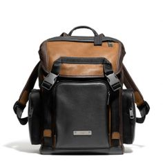 The Thompson Backpack In Colorblock Leather from Coach, Men's