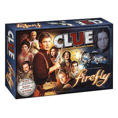 "medictom: ""Firefly Clue - Loved the show, now solve the mystery! I simply loved the show Firefly, a show that was cancelled before its time. Clue Board Game, Board Games, Clue Games, Mystery Games, Take My Money, Firefly Serenity, Geek Out, Nerd Geek, My Collection"