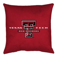 Texas Tech Red Raiders NCAA Locker Room Bed/Sofa/Couch/Toss Pillows