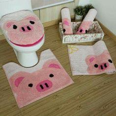 This Little Piggy, Little Pigs, Pig Kitchen, Ideas Baños, Tout Rose, Piggly Wiggly, Pig Art, Baby Pigs, Teacup Pigs