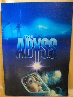Movie Program Japan- ABYSS, THE /1990/ James Cameron, ED HARRIS, MICHAEL BIEHN
