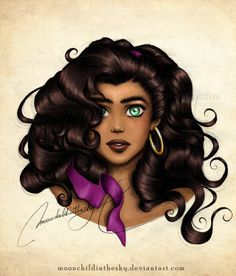 Esmeralda Portrait Color
