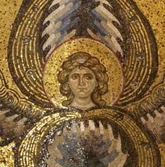 Byzantine Mosaics of Angels from Sicily Byzantine Mosaics, Byzantine Art, Byzantine Icons, Fall Of Constantinople, English Country Decor, Hagia Sophia, Angel Pictures, Orthodox Icons, Mosaic Art