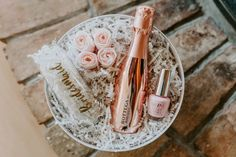 A sweet bridesmaid gift idea. ~ bridal shower design // bridal shower ideas // spring bridal shower // cheery welcome sign // welcome sign // vintage style bike // basket of flowers // spring bridal shower ideas // bridesmaid gift ~ Curated Gift Boxes, Shower Inspiration, Wedding Inspiration, Wedding Confetti, Will You Be My Bridesmaid, Vintage Bridal, Bridal Gifts, Wedding Vendors, Orange