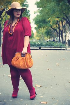 Le blog mode de Stéphanie Zwicky » Blog Archive » + Miss Burgundy +