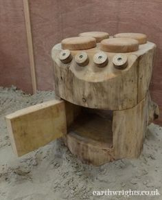 More role play options with our cedar oven...