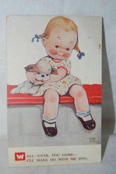 1920'S Mabel Lucie Attwell Postcard Very Rare Card VGC Genuine Antique | eBay