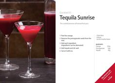 #Kuvings #Cocktail #Recipe - #Tequila Sunrise with Whole Slow #Juicer #CS600