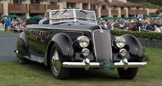 Lancia Astura is 'Best of Show' at the Pebble Beach Concours 2016 | Classic…