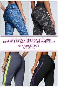 Fabletics by Kate Hudson! Add some zing to your workout with Kate Hudson's new activewear collection. Discover outfits that fit your lifestyle by taking our Lifestyle quiz!
