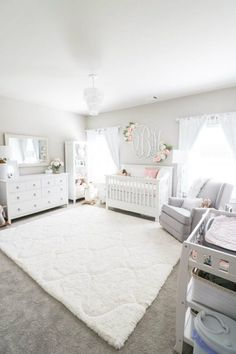 Girl Nursery Ideas - Bring your infant girl residence to a lovable and also functional nursery. Right here are some infant girl nursery layout ideas for every one of your decor, bedding, as well as furniture .