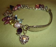how to make silverware jewelry | kudzukween...spoon bracelet ? - Crafts and Decorations Forum ...