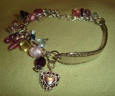how to make silverware jewelry | kudzukween...spoon bracelet ? - Crafts and Decorations Forum ...
