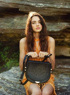 Have a look at the exclusive interview and shot with beauty Amelia Zadro for leather accessory label SANCIA here on Bohemian Diesel! Fur Fashion, Fashion Art, Womens Fashion, Oyster Magazine, Amelia Zadro, Glasses Trends, Female Models, Top Models, Model Face