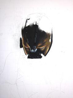 Dark Knight Rises  http://martinmrochaart.com/author/martinmrochaart/