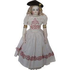 Fabulous Circa 1860s-1870s French Fashion Rohmer Antique Doll Rare from dollsandlace on Ruby Lane