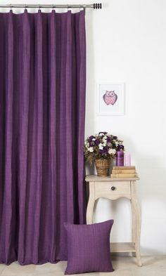 'YAMINI TEMBE' MADE TO MEASURE COTTON DRAPES (PURPLE) $52.00   https://www.spiffyspools.com/collections/curtains/products/yamini-tembe-curtains