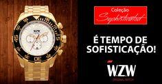 É tempo de renovação, é tempo de Sofisticação. Conheça nossa Coleção Sofisticada completa através do nosso site:  WZW Relógios Estilo e Sofisticação para o seu dia-a-dia.  #WZWRelógios #RelógiosSofisticados #ColeçãoSofisticada #Sophisticated #Cronógrafo #Estilo #Beleza #Acessórios #Watches