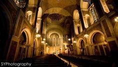 NYC #wedding ceremony at #St.Bart's - St. Bartholomew's Church