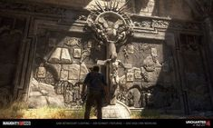 Lighting by Me and Aifen-Lo, Texturing by Jon Schmidt, Environment Modeling by Jose Vega. Nathan Drake, Madagascar, Castle, Artwork, Painting, Work Of Art, Auguste Rodin Artwork, Painting Art, Castles
